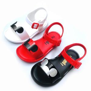 Мини Melissa2019 новенькая сандалии Jelly сандалии Детская пляжная обувь мультфильм обувь для девочек Melissa