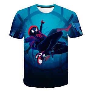 Mens Avengers Spider-Man T shirts Fashion Summer Short Sleeve Ghost Super Hero T-shirt 3D Spider-Man Unlimited Print Tops Skull Tshirt Men