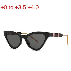 Fashion Cat Frame Women Bifocals Reading Glasses Female Presbyopia Sunglasses Look Near Far Eyeglasses Magnifier +1.0~+4.0 NX
