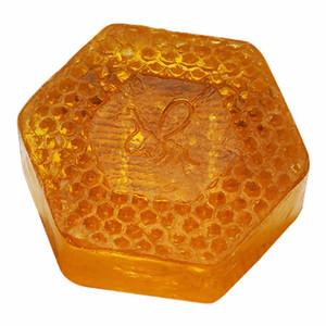العناية بالبشرة 100G اليدوية العسل صابون التنظيف العميق للوجه ترطيب تبييض النفط تحكم الصابون
