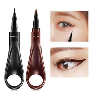 Anel de Design À Prova D 'Água Delineador Líquido Make Up Eye Liner caneta Lápis Beleza Cosméticos Ferramenta Smudge-Proof Caneta Delineador de Longa Duração TTA117