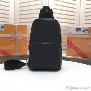 Оптовая 4171 кожаные сумки Бесплатная доставка горячей продажи стилей твердого цвета плед сплайсинга компактные и удобные мужские сумки на ремне