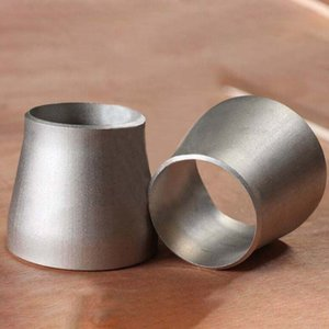 ANSI B16.9 Conc.Reducer Titanium Raccords de tuyaux en titane Gr2 haute pression, Coude / té / réducteur en stock