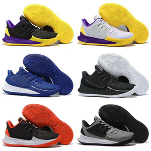 2020 Nueva casa de piña Kyrie para hombre Zapatos de baloncesto de los niños 5s Conceptos Bajo 2 Multi-Color de la puesta del sol de Orion Belt Sue fresco Graffiti las zapatillas de deporte