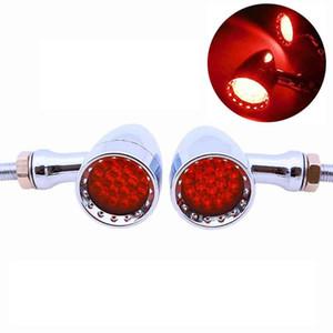 Encienda la motocicleta de motocross señal indicadora LED rojo de freno Rurning cola bulbos de lámpara