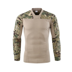 tactical shirt sports breathable outdoor camouflage uniform training uniform long sleeve Frog suit