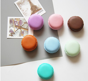 Wholesale gifts box Cute Candy Color Macaron Mini Cosmetic Jewelry Storage Box Jewelry Box Case Birthday Gift Display