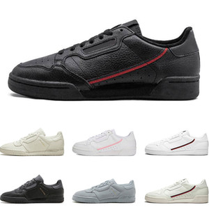 2019 New arrivel Calabasas Powerphase Grey Continental 80 Chaussures de loisirs rose bleu Core noir OG blanc femmes mensTrainer Sports Sneakers 36-45