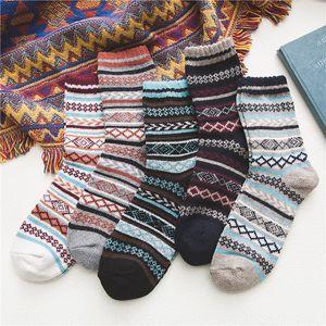 8wovk rabbit wool coarse thread style medium tube Group Men's rabbit wool socks coarse thread ethnic style medium tube men's Ethnic Group s