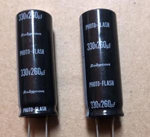 Baixa foto esr de flash capacitor 330V 260uf 16 * 45 milímetros