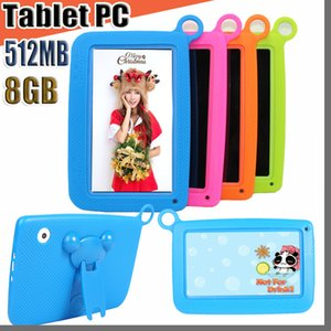 """168 Kids Brand Tablet PC 7"""" Quad Core children tablet Android 4.4 Allwinner A33 google player wifi big speaker protective cover M-7PB"""