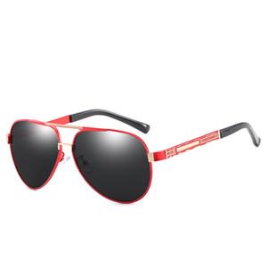Nouveau concepteur de marque Top lunettes de soleil pour hommes et femmes Lunettes de soleil pour hommes polarisées conduite haut de gamme lunettes de soleil lunettes de soleil
