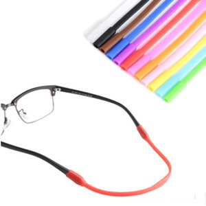 1 PC Adjustable Color Elastic Silicone Eyeglasses Straps Sunglasses Chain Sports AntiSlip String Glasses Ropes Other Fashion Accessories Ba