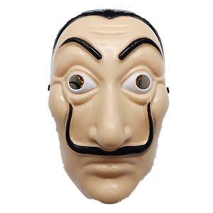 Dali Plastic Mask Paper House La Casa De Papel Cosplay Decorazione Masquerade Halloween Divertenti strumenti