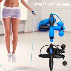 Hot Sale Jump Ropes Delicate Texture Solid Smart Electronic Digital Jumping Rope Counter Calorie Fitness Skipping Rope