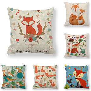 45cm*45cm Cushion cover  orange  pattern  linen/cotton cover cushion sofa and Home decorative pillow