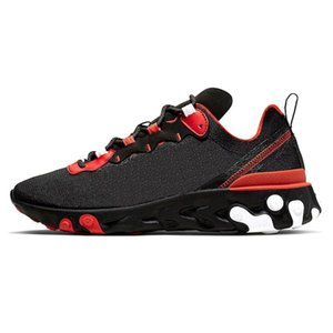 2020 New X React Element 87 55 Camo Bred Tour Yellow Triples Black Mens Womens Running Shoes EPIC Trainers Sail Light Bone Reacts Sneakers