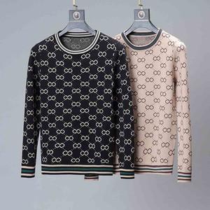 Gros haut de gamme pulls Pull haute qualité ronde à manches longues de la mode masculine des hommes et alphabet pour les hommes des femmes hoodies imprimés