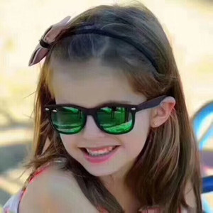 High-Quality ORJ9052S KIDS Sunglasses UV400 for 5-8years 47-15-125 Imported Superlight Healthy Fullrim+Fashion REVO Lens fullset case