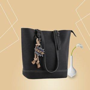 Handbag Hot Selling Retro Womens New Fashion Bucket Bag All-match Large Multi-Color Optional High Quality Messenger Bag