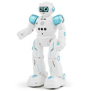 Товар Р11 радиоуправляемый Кэди WIKE зондирования жеста касания Толковейший Programmable прогулки танцы смарт-робот игрушки для детей игрушки MX200414
