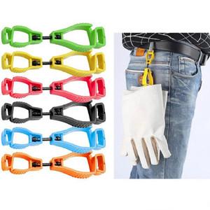 Un type suspendu de taille clip gant boucle gants en plastique travail collier de protection du travail de suspension clip capteur de sécurité clip