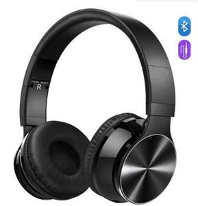 Pop2019 Pattern Heat Sell Headset Head Wearing Type Wireless Bluetooth Foreign Stereo Mobile Phone Music General Purpose Student