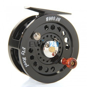 1piece Fly Flies Fishing Reels Reel Freshwater Loop Right Left Handed Black New and Hot Selling