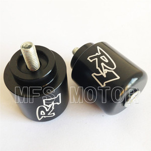Wholesale Motorcycle For Yamaha YZF R1 YZFR1 R1 YZF R6 YZFR6 R6 BLACK Hand Bar Ends