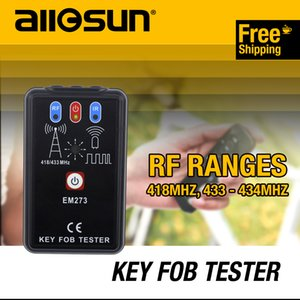 Allsun Portable Key Fob Tester Radio Frequency & Infrared Vehicular Remote Controller Wave Analyzer Tool EM273 Signal Receiver on Sale