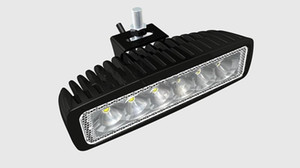 ingrosso bar auto 4x4 guidato-18W LED Light Light V V IP67 Flood o Spot Beam per WD x4 Off Road Lamp Truck Bar Boat Tren Train Bus Auto Lighting
