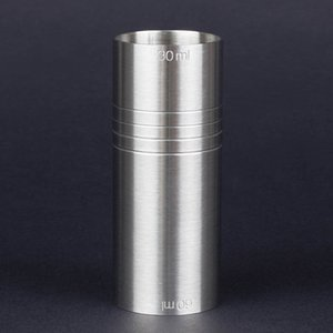 Wholesale Stainless Steel Bar Measuring Jigger Cocktail Bartender Drink Mixing Measuring Liquor Cup Ounce Shot Pourer Measurer