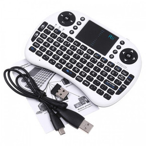 Wholesale Genuine Rii i8 Air Mouse G RII Mini Wireless Keyboard Touch Pad mouse gaming Keybord for HTPC Tablet Laptop PC