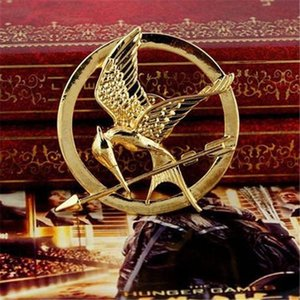 Hot Hunger Games Brooches Inspired Mockingjay And Arrow Movie Hunger Games Bird Brooch Pins For Both Women And Men