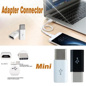 Wholesale Micro USB to USB Type C Male to USB Data Cord Connector Female Mini Adapter Connector For Huawei P10 Samsung S8 Plus S7 Edge Note