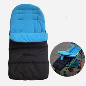 Wholesale Winter Thick Warm Baby Stroller Sleeping Bag Newborn Foot Cover for Pram Wheelchair Baby Stroller Accessories Sleeping Bag