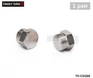 Wholesale plug bolt for sale - Group buy TANSKY Mild Steel Zinc Plated Hex Bolt Bung Plug for Oxygen Sensor Bung M18x1 Thread color is silver TK CGQ66