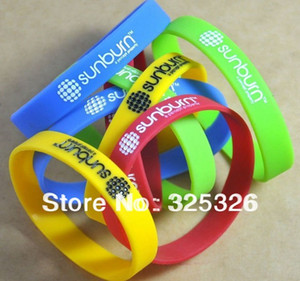 Wholesale Silicone Bracelet with logo silicone Wristband 100pcs lot customized wristband Fast delivery cheap custom deboss band