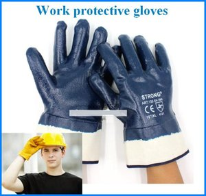 Wholesale workers gloves resale online - Working Protection Gloves Waterproof Oil Proof Safety Work Security Protective Staff Workers Welding Moto Glove Out225
