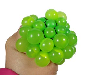 Wholesale High Quality Hot Sale Cute Squishy Squeeze Grape Anti Stress Decompression Relief Health Toy Autism Mood Relax Grape