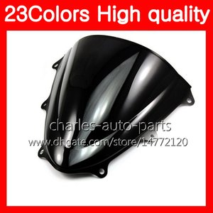 Wholesale motorcycle suzuki resale online - 100 New Motorcycle Windscreen For SUZUKI GSXR750 GSXR600 GSXR Chrome Black Clear Smoke Windshield