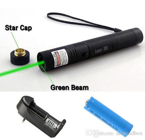 Best 532nm Professional Powerful 303 Green Laser Pointer Pen Laser Light Pen 301 Green Lasers Pen Free Shipping