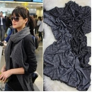 Wholesale Top Factory Sell High Quality Luxury classic Wool cashmere scarf women s silk Wrap shawl Letter printing Scarves x140cm