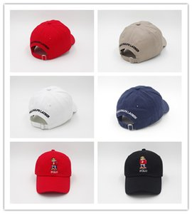 Wholesale Newest Good Style New Hot Upsoar hat Red Authentic polos bear Dad Baseball Cap Kanye West drake cap casquette
