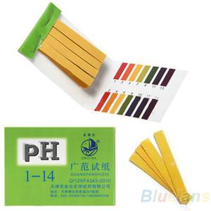 80 Strips Full Range pH Alkaline Acid 1-14 Test Paper Water Litmus Testing Kit 098I