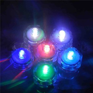 blitz tauchen großhandel-Wasserdichte LED Candle Diving Lampe Knob Candle Light Die Candle Flash Elektronische Kerzen LED Submersible Wasserdichte Hochzeitsdekoration Party