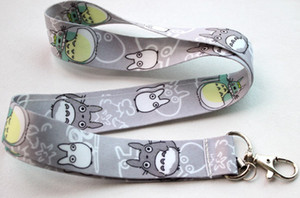 Wholesale My Neighbor Totoro mp3 mp4 mp5 Phone lanyard keys ID neck straps for kids
