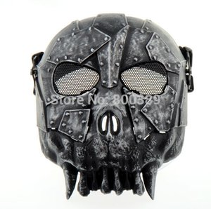 Wholesale EA Desert Crops DC Full face Skull Mask Military Windshield Mask Army Tactical Face Protect Safe Mask