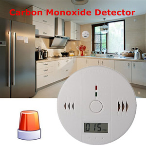 Wholesale CO Carbon Monoxide Poisoning Gas Sensor Warning Smoke Detector Alarm Detector Tester LCD Shenzhen Factory