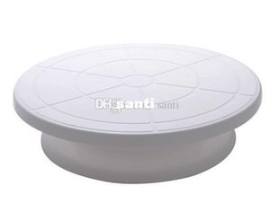 "Wholesale New Arrive Pro 11"" Rotating Revolving Cake Sugar craft Turntable Decorating Stand Platform"